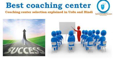 Best Coaching center